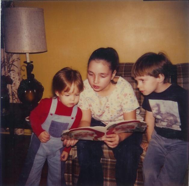 Christmas-1980-3-Kathi,Wednesday&Mark